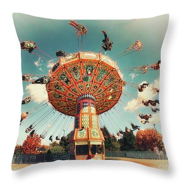 Swingin' Throw Pillow by Mark Miller