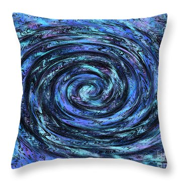 Swirl Abstract 5 Throw Pillow