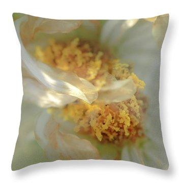 Flower Swirl.... Throw Pillow