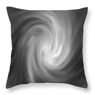 Swirl Wave Iv Throw Pillow