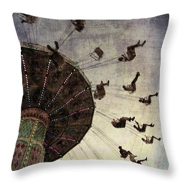 Swirling.... Throw Pillow