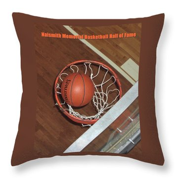 Swish Throw Pillow by Mike Martin