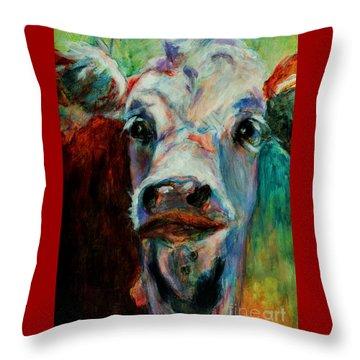 Swiss Cow - 1 Throw Pillow