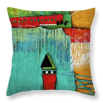 Switch It Up Throw Pillow