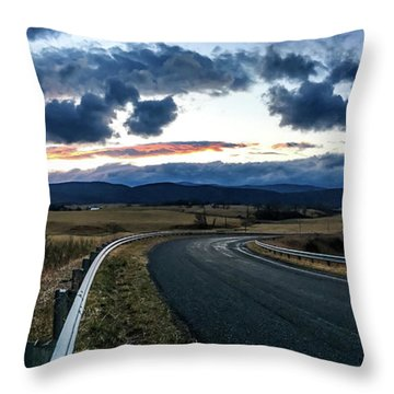 Swoope Virginia Throw Pillow