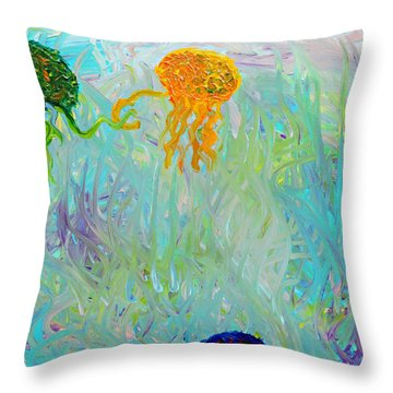 Swooping  Throw Pillow