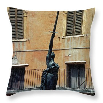 Sword Of Freedom Throw Pillow