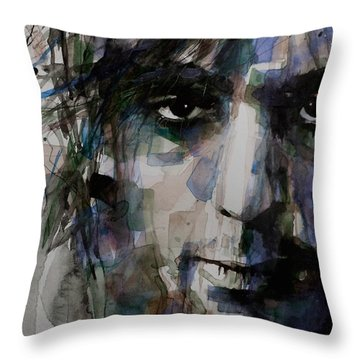 Syd Barrett Throw Pillow