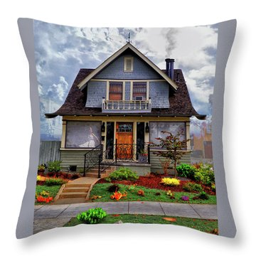 And Everything Nice Throw Pillow