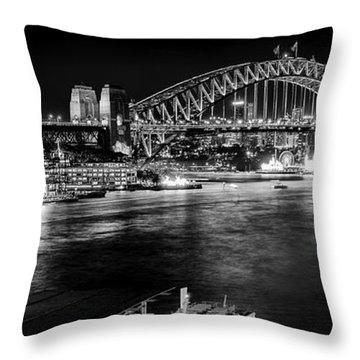 Sydney - Circular Quay Throw Pillow