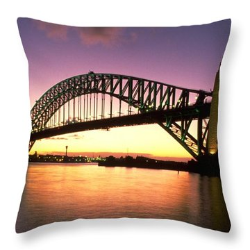 Michel Guntern Throw Pillows