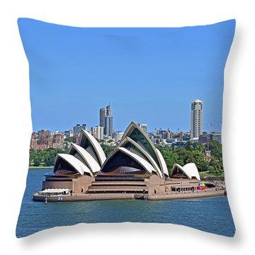 Sydney Opera House No. 17-1 Throw Pillow
