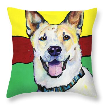 Sydney Throw Pillow by Pat Saunders-White