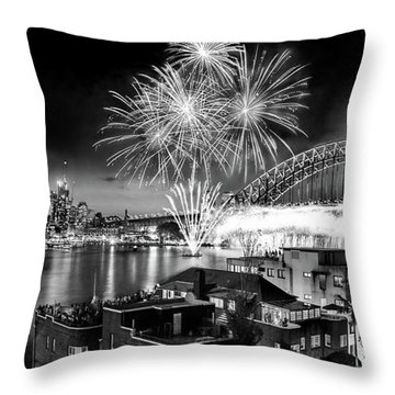 Sydney Spectacular Throw Pillow by Az Jackson