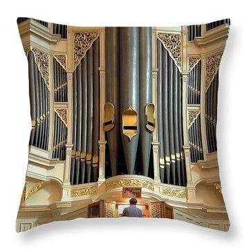 Sydney Town Hall Organ Throw Pillow
