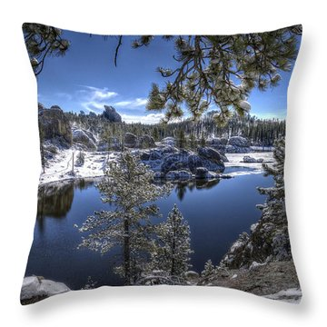 Sylvan Lake Throw Pillow