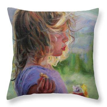 Sylvia Throw Pillow