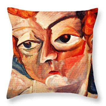 Sylvia Throw Pillow by John Keaton