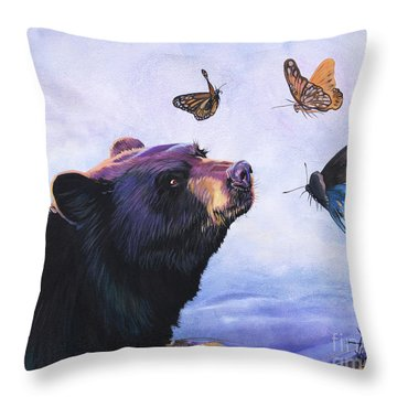 Symbiosis Throw Pillow