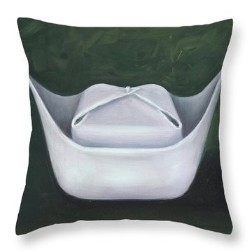 Symbol Of A Proud Profession II Throw Pillow by Marlyn Boyd