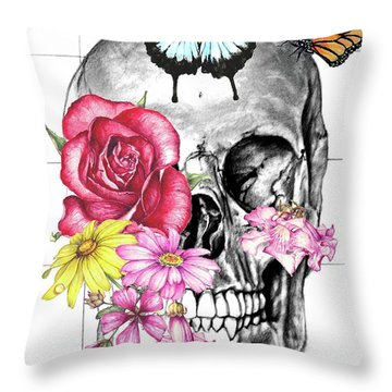 Symbol Of Change 2 Throw Pillow by Heidi Kriel