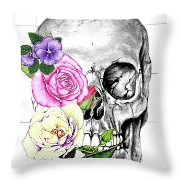 Symbol Of Change Throw Pillow by Heidi Kriel