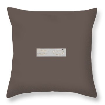 Symbolic Throw Pillow