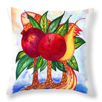 Symbolics Throw Pillow