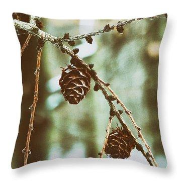 Symbols Of Earth Throw Pillow