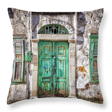Symi Throw Pillow