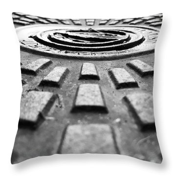 Symmetrical Throw Pillow