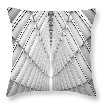 Symmetry Throw Pillow by Scott Norris