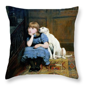 Sympathy Throw Pillow