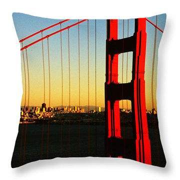 Symphonie In Steel Throw Pillow