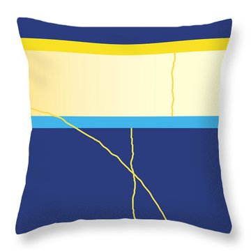 Symphony In Blue - Movement 2 - 2 Throw Pillow