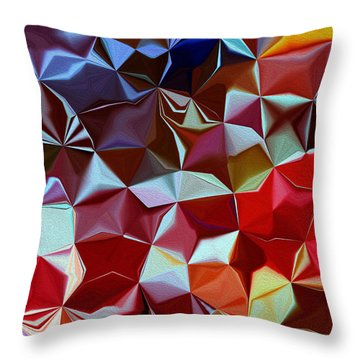 Symphony Throw Pillow by Leo Symon