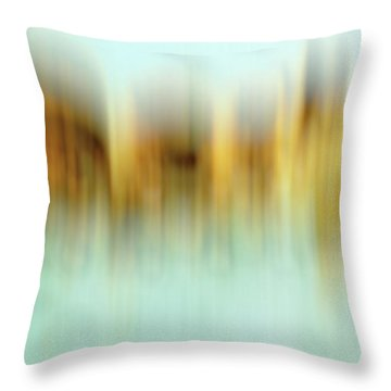 Throw Pillow featuring the digital art symphony No.22 by Tom Druin