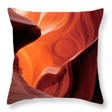 Symphony Of Light Throw Pillow by Sandra Bronstein