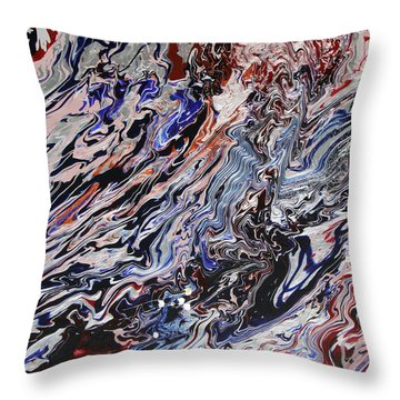 Synchronize Throw Pillow