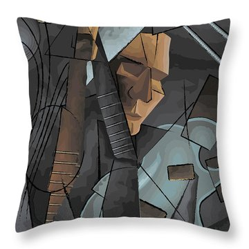 Syncopation Throw Pillow