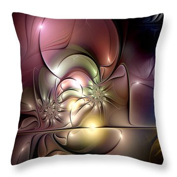 Synergetic Hypothesis Throw Pillow by Casey Kotas