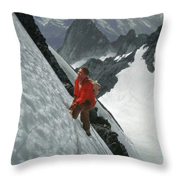 T-202707 Eric Bjornstad On Howser Peak Throw Pillow