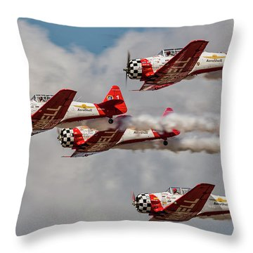 T-6 Texan Throw Pillow