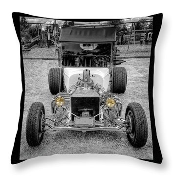 T Bucket Throw Pillow