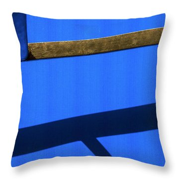 T Point Throw Pillow by Prakash Ghai