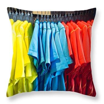 T Shirts Throw Pillow