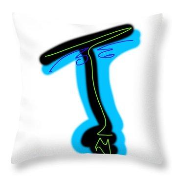 T2 Throw Pillow