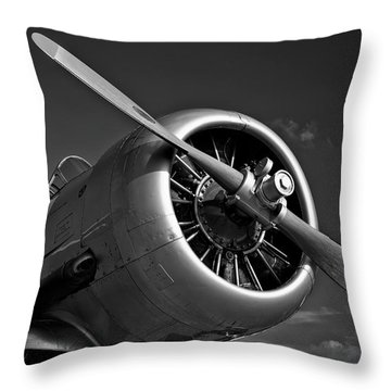 T6 Texan Throw Pillow