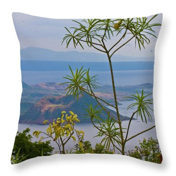Taal Throw Pillow