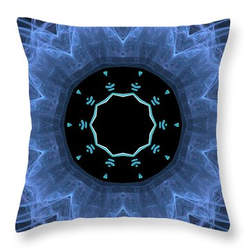 Table Of Hearts Throw Pillow by Wayne Bonney